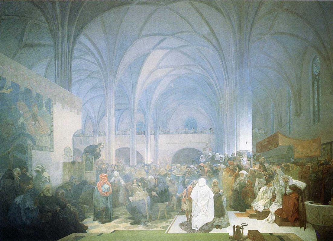 Pensées de Jean Huss sur l'Église