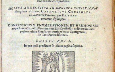Synopse des confessions de foi œcuméniques et protestantes