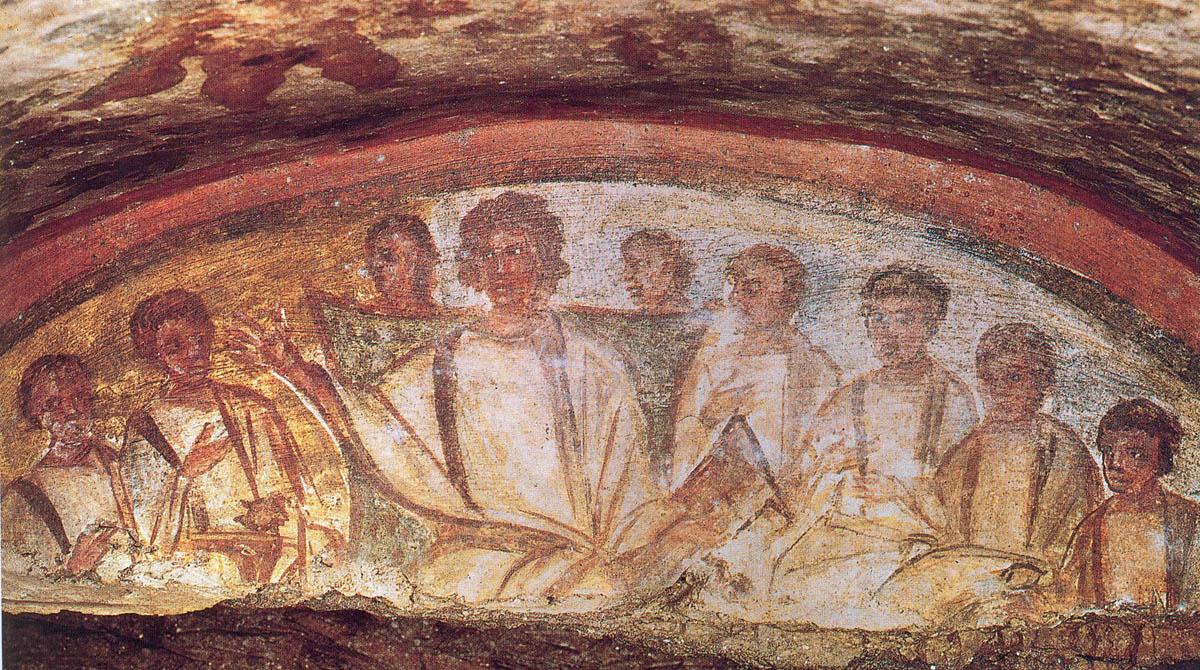 Catacomb_Christ+the-apostles.jpg