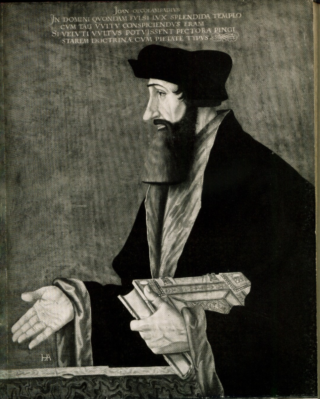 Johannes Oecolampadius, le Réformateur.