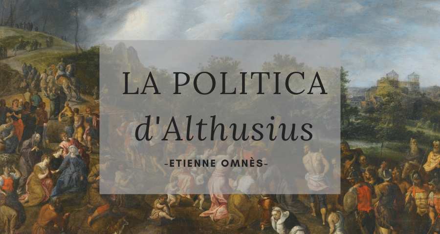 L'organisation de l'église  – Althusius