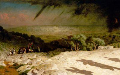 La bataille de Jésus-Christ au Golgotha — Guillaume Farel