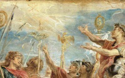 La conversion sincère de Constantin