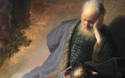 Les Lamentations de Jérémie en vers : chapitre 1 – Alfred de Montvaillant