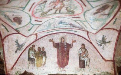 Le voile chrétien : un indice dans les catacombes ?